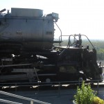Centennial No. 6900 locomotive on display at Kenefick Park