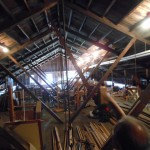 Meeting House - Strength in rafters!