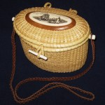 Nantucket Lightship Basket evening bag