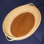 Nantucket Lightship Basket tray basket